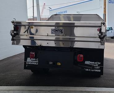 2021 Silverado 3500 Crew Cab 4x4,  Monroe Truck Equipment MTE-Zee SST Series Dump Body #C210451 - photo 2