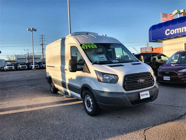 2018 Transit 250 Med Roof 4x2, Thermo King Refrigerated Body #L18723 - photo 1