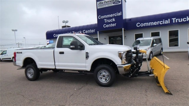 2019 F-250 Regular Cab 4x4, Fisher Snowplow Pickup #L191227 - photo 6