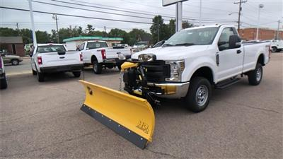 2019 F-250 Regular Cab 4x4, Fisher Snowplow Pickup #L191227 - photo 8