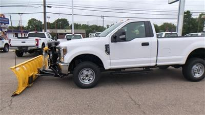 2019 F-250 Regular Cab 4x4, Fisher Snowplow Pickup #L191227 - photo 9