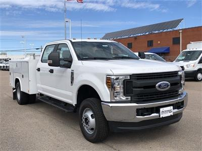 2019 F-350 Crew Cab DRW 4x4, Reading Service Body #L191415 - photo 1