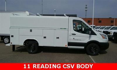 2019 Transit 350 4x2, Reading Aluminum CSV Service Utility Van #L19709 - photo 1