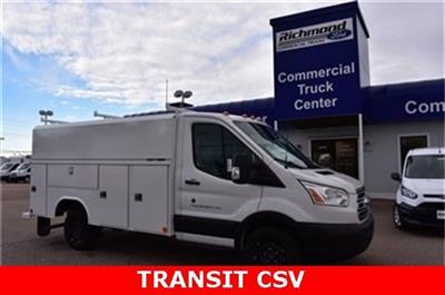 2019 Transit 350 4x2, Reading Aluminum CSV Service Utility Van #L19779 - photo 1
