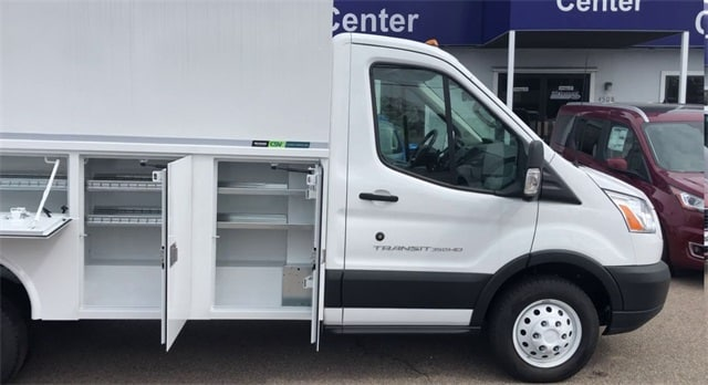 2019 Ford Transit 350 HD DRW 4x2, Reading Service Utility Van #L19879 - photo 1