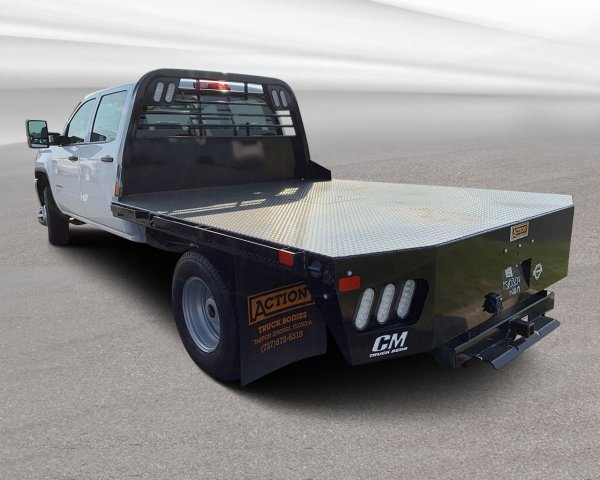 2019 Sierra 3500 Crew Cab DRW 4x2, CM Truck Beds Platform Body #F0024 - photo 1