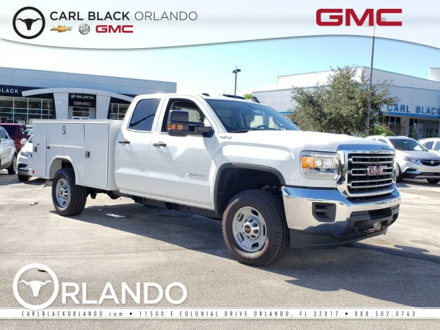 2019 Sierra 2500 Extended Cab 4x4, Reading Service Body #4390839 - photo 1