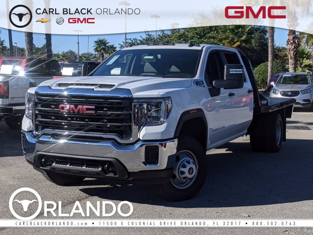 2020 GMC Sierra 3500 Crew Cab 4x4, Platform Body #F4300894 - photo 1