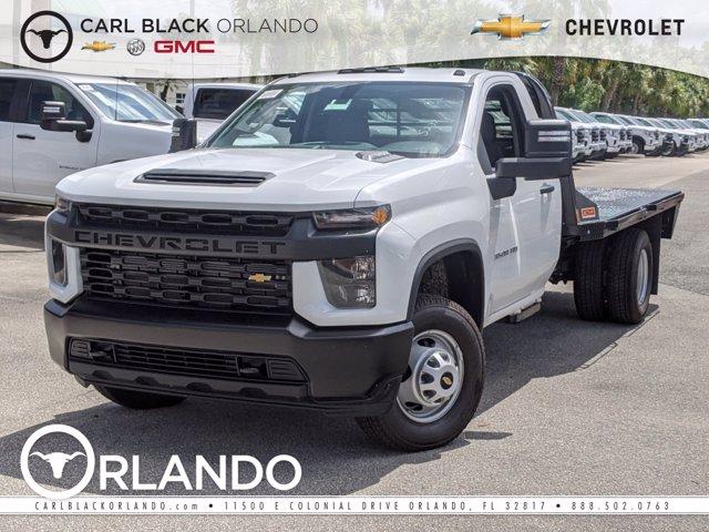 2020 Chevrolet Silverado 3500 Regular Cab DRW 4x4, CM Truck Beds Platform Body #F4101325 - photo 1