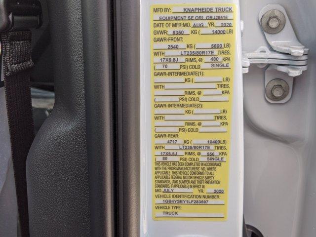 2020 Chevrolet Silverado 3500 Crew Cab DRW 4x4, Knapheide Steel Service Body #F4101429 - photo 34