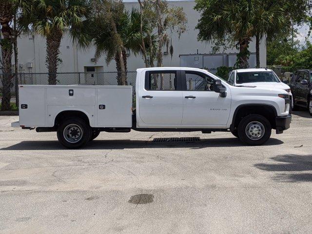 2020 Chevrolet Silverado 3500 Crew Cab DRW 4x4, Knapheide Steel Service Body #F4101429 - photo 6