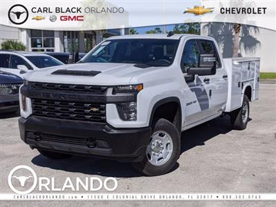 2020 Chevrolet Silverado 2500 Crew Cab 4x4, Knapheide Steel Service Body #F4101663 - photo 1
