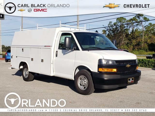 2019 Chevrolet Express 3500 4x2, Reading Service Utility Van #F4191516 - photo 1