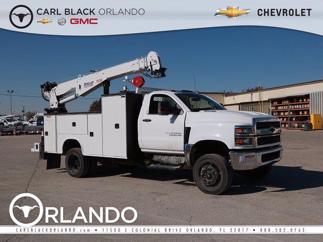 2021 Chevrolet Silverado Medium Duty Regular Cab DRW 4x4, Mechanics Body #M4110936 - photo 1