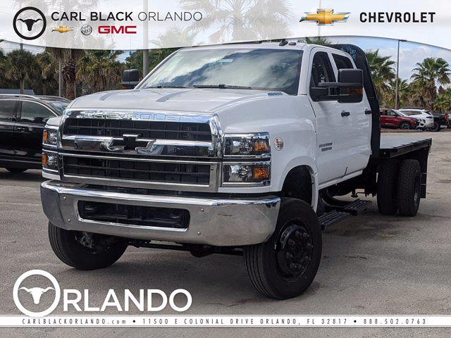 2021 Chevrolet Silverado Medium Duty Crew Cab DRW 4x4, Knapheide Platform Body #M4110719 - photo 1