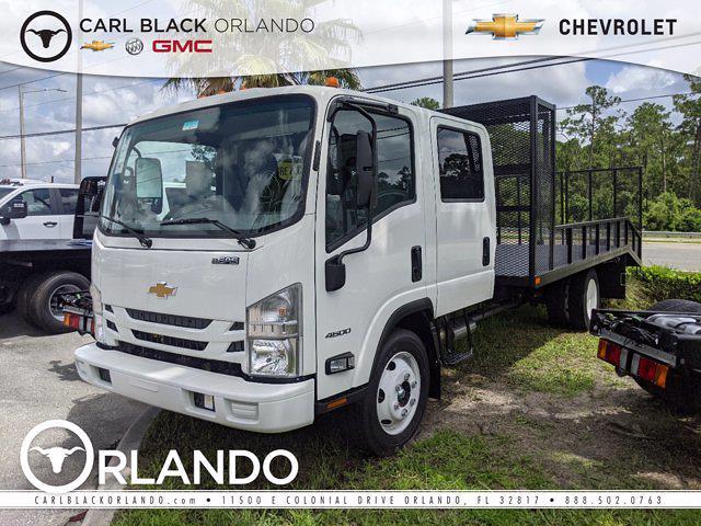 2021 Chevrolet LCF 4500 Crew Cab 4x2, Womack Truck Body Dovetail Landscape #M4111037 - photo 1