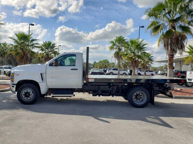 2019 Chevrolet Silverado Medium Duty Regular Cab DRW RWD, Monroe Work-A-Hauler II Platform Body #M4191551 - photo 5