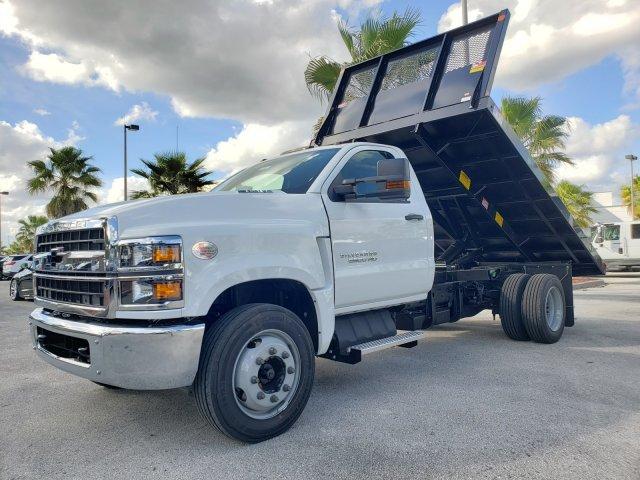 2019 Chevrolet Silverado Medium Duty Regular Cab DRW RWD, Monroe Work-A-Hauler II Platform Body #M4191551 - photo 6