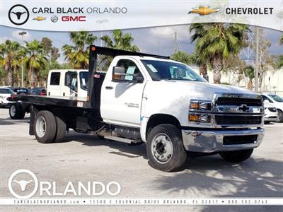 2019 Chevrolet Silverado Medium Duty Regular Cab DRW RWD, Monroe Work-A-Hauler II Platform Body #M4191551 - photo 1