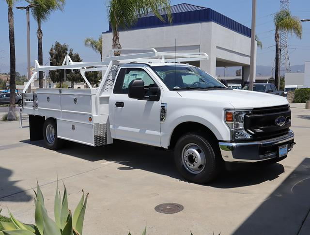2021 Ford F-350 Regular Cab DRW 4x2, Scelzi Contractor Body #210350 - photo 1