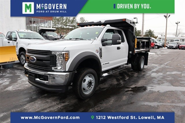 2019 Ford F-550 Super Cab DRW 4x4, SH Truck Bodies Dump Body #FN1093 - photo 1