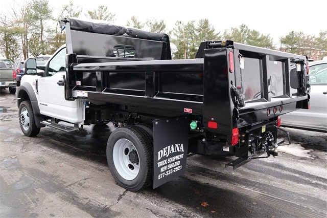 2019 Ford F-550 Regular Cab DRW 4x4, Rugby Dump Body #FN1301 - photo 1