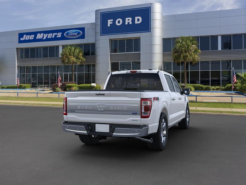 2021 Ford F-150 SuperCrew Cab 4x4, Pickup #MFB53280 - photo 8