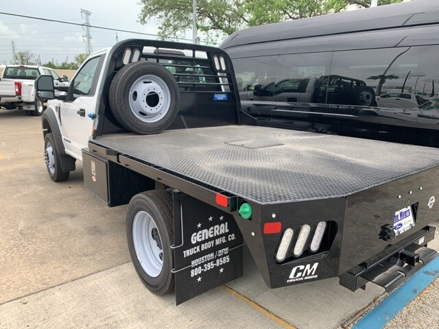 2019 Ford F-450 Regular Cab DRW 4x2, CM Truck Beds Platform Body #KDA27354 - photo 1