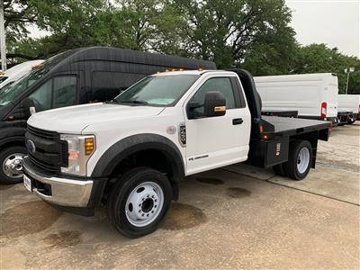 2019 Ford F-450 Regular Cab DRW 4x2, CM Truck Beds RD Model Platform Body #KDA27354 - photo 9