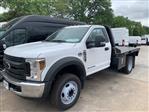 2019 Ford F-450 Regular Cab DRW 4x2, CM Truck Beds RD Model Platform Body #KDA27354 - photo 3