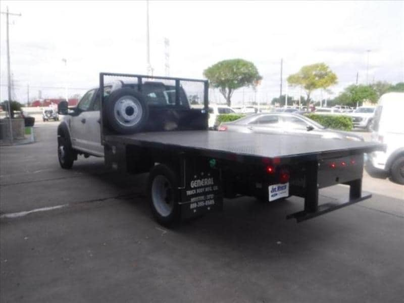 2019 F-550 Crew Cab DRW 4x2, CM Truck Beds Platform Body #KEE28874 - photo 1