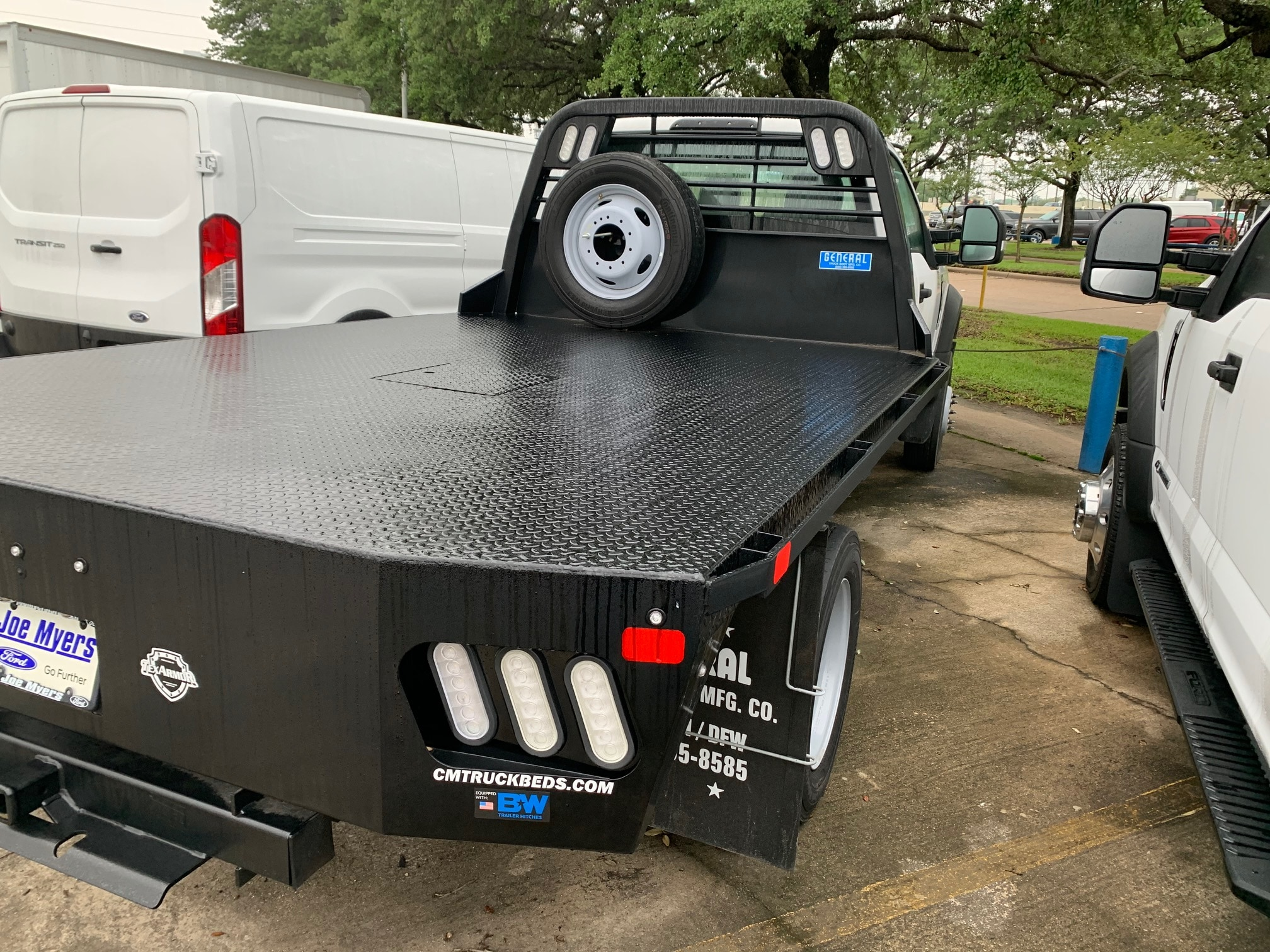 2019 Ford F-450 Regular Cab DRW 4x2, CM Truck Beds RD Model Platform Body #KEG80161 - photo 3