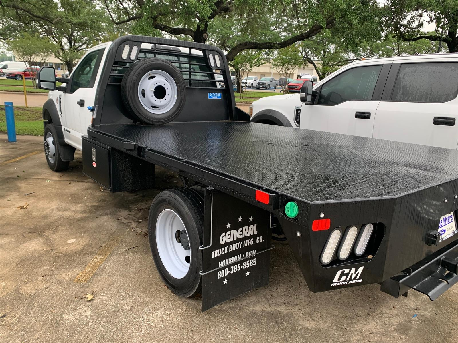 2019 Ford F-450 Regular Cab DRW 4x2, CM Truck Beds Platform Body #KEG80161 - photo 1