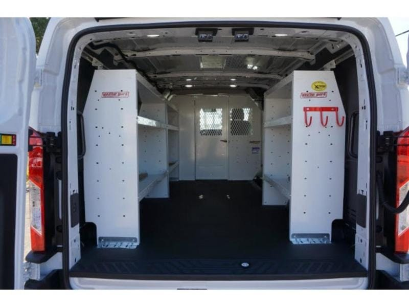 2019 Transit 250 Low Roof 4x2, Weather Guard Upfitted Cargo Van #KKB45863 - photo 1