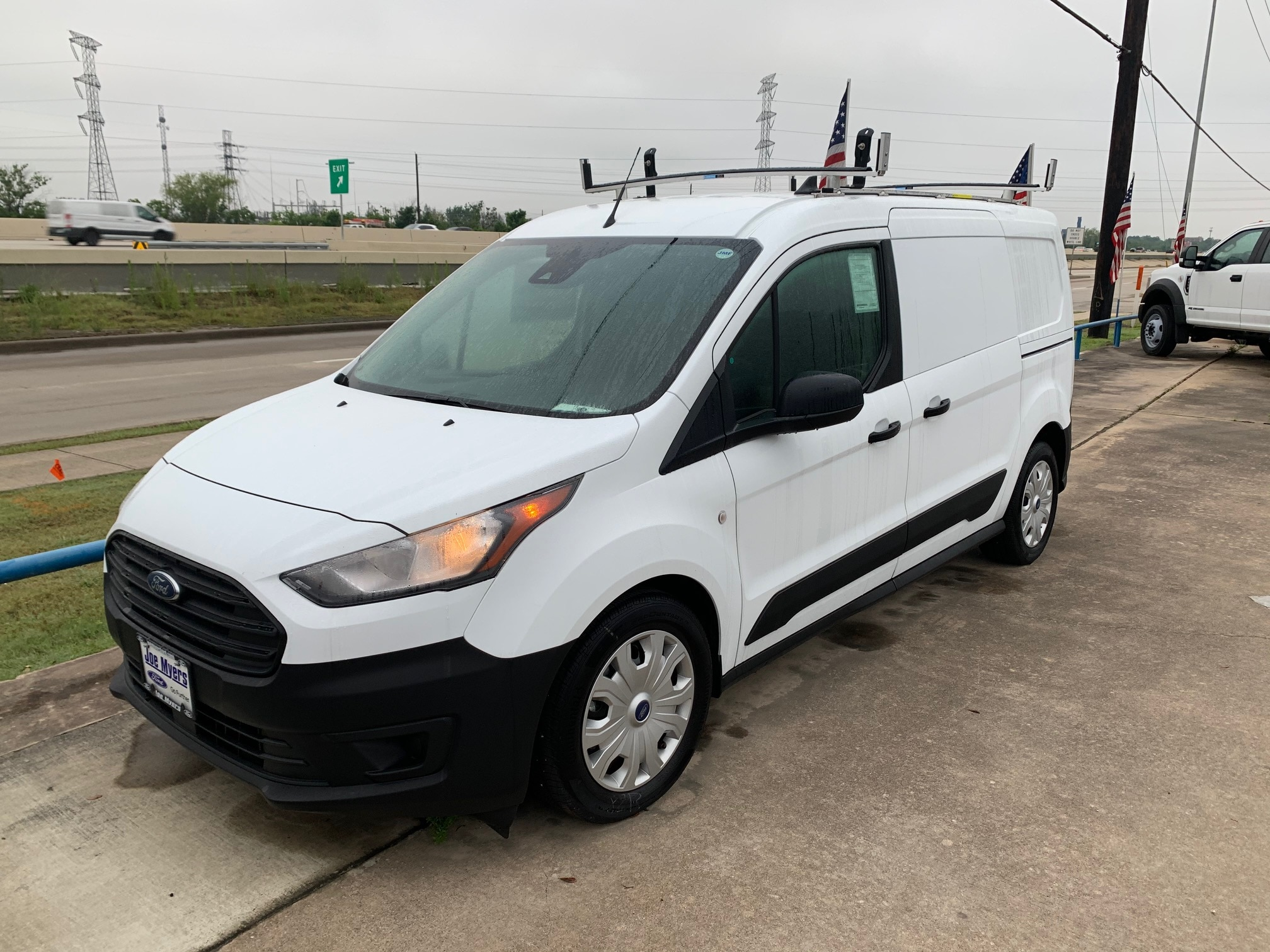 2020 Ford Transit Connect, Upfitted Cargo Van #L1456064 - photo 1