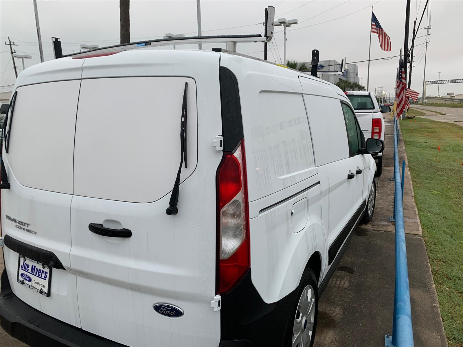 2020 Ford Transit Connect FWD, Adrian Steel PHVAC Upfitted Cargo Van #L1456064 - photo 4