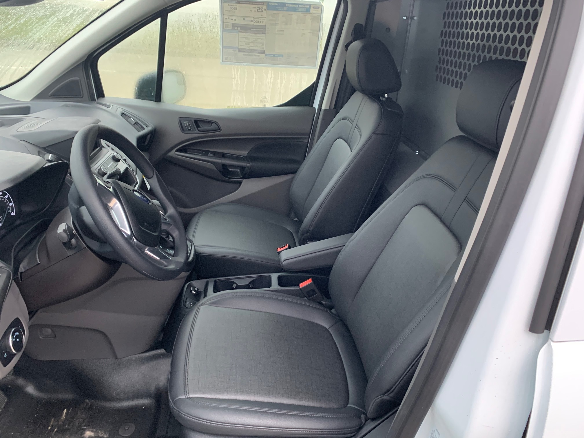 2020 Ford Transit Connect FWD, Adrian Steel PHVAC Upfitted Cargo Van #L1456064 - photo 5