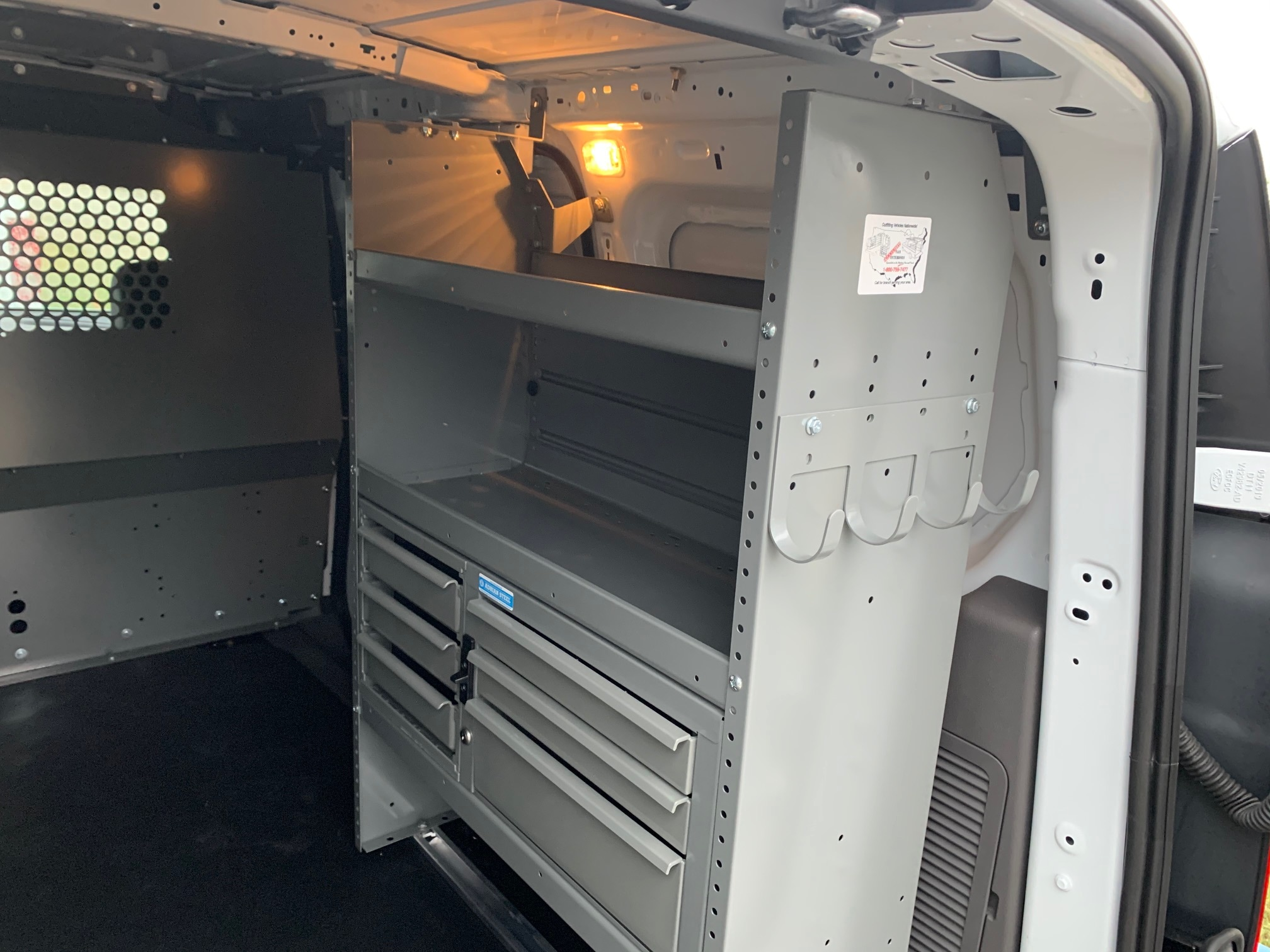2020 Ford Transit Connect FWD, Adrian Steel PHVAC Upfitted Cargo Van #L1456064 - photo 7