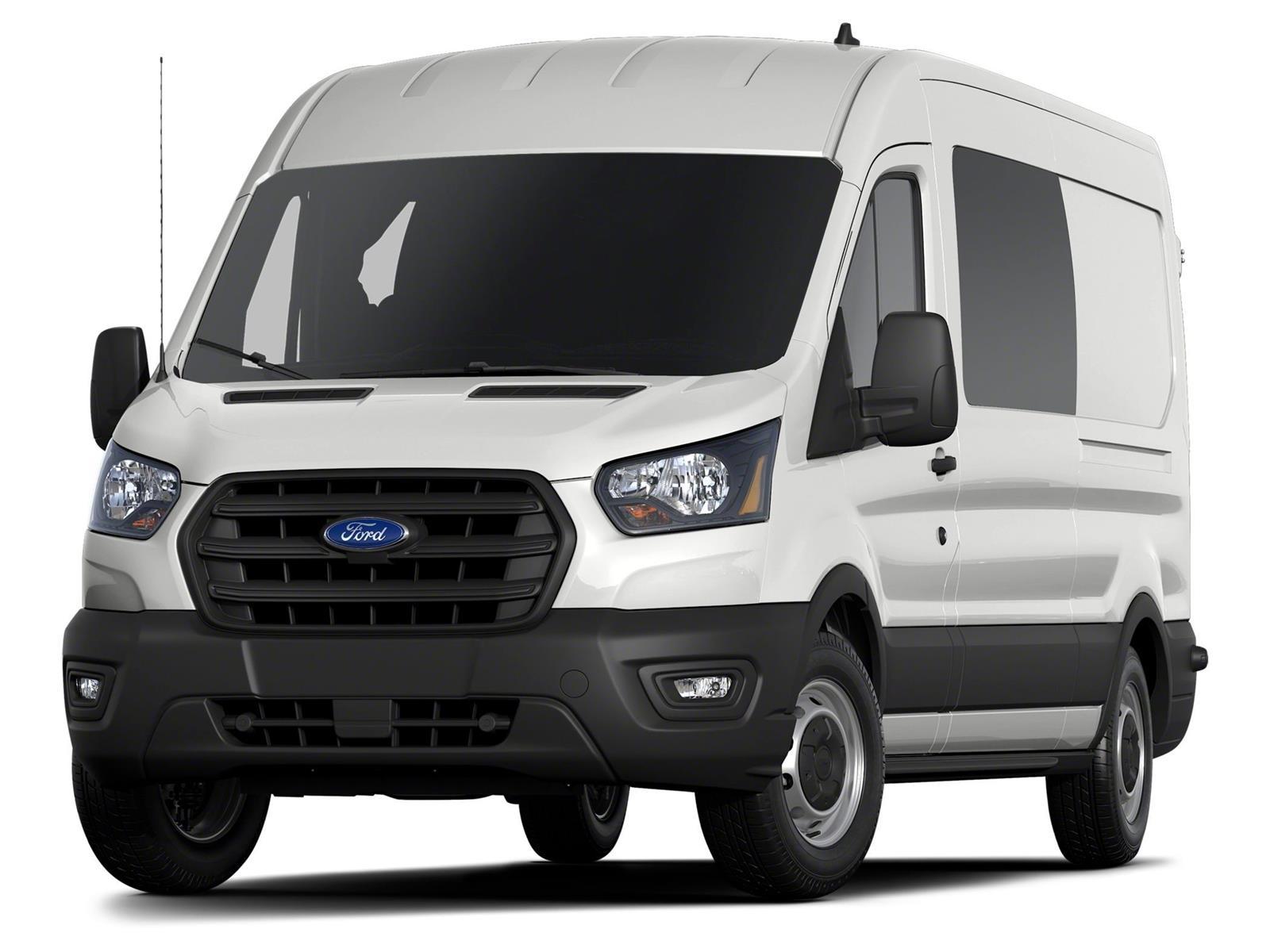 2020 Ford Transit 250 Med Roof RWD, Empty Cargo Van #LKA06627 - photo 1