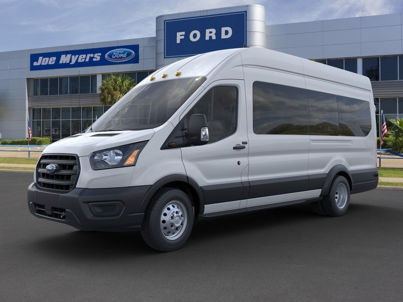 2020 Ford Transit 350 HD High Roof DRW 4x2, Passenger Wagon #LKA81539 - photo 1