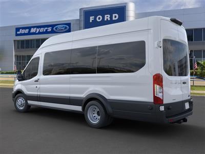 2020 Ford Transit 350 HD High Roof DRW 4x2, Passenger Wagon #LKA81539 - photo 2