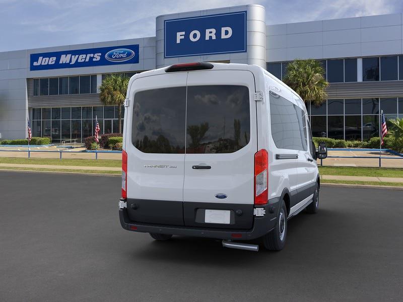 2020 Ford Transit 350 Med Roof 4x2, Passenger Wagon #LKB20084 - photo 8