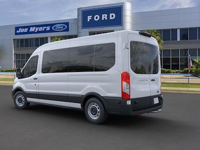 2020 Ford Transit 350 Med Roof 4x2, Passenger Wagon #LKB20084 - photo 2