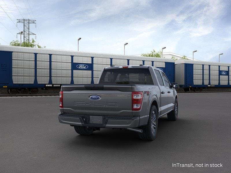 2021 Ford F-150 SuperCrew Cab 4x4, Pickup #MFB68758 - photo 8