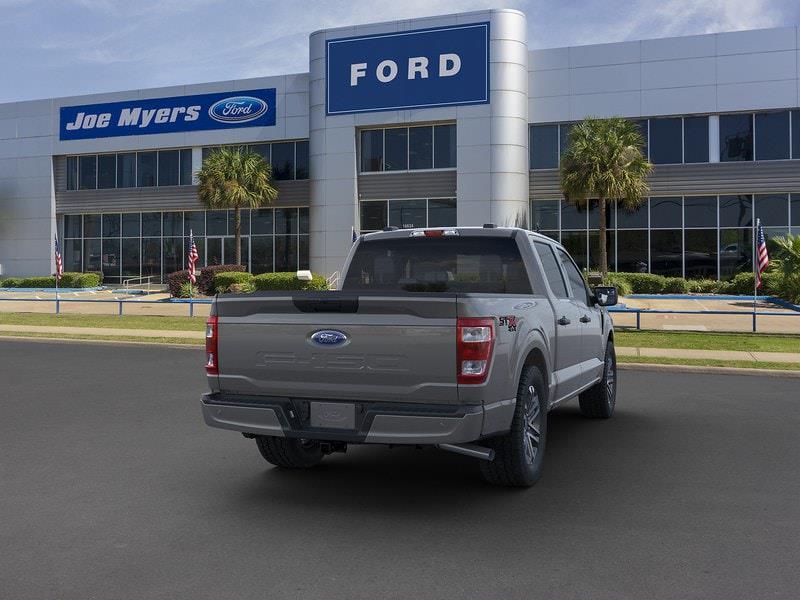 2021 Ford F-150 SuperCrew Cab 4x4, Pickup #MFB68760 - photo 8