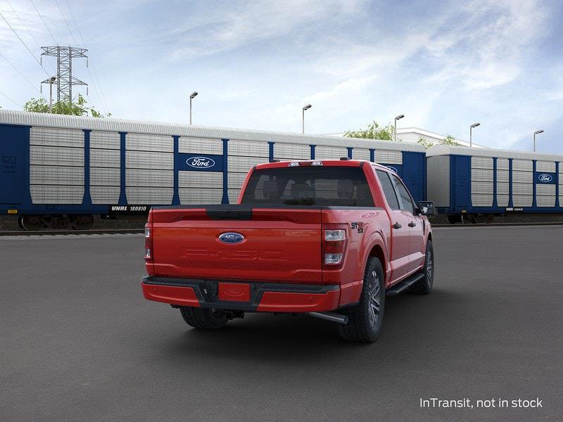 2021 Ford F-150 SuperCrew Cab 4x4, Pickup #MKD40742 - photo 8