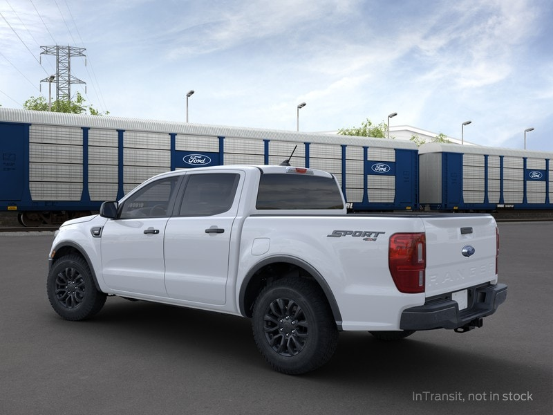 2021 Ford Ranger SuperCrew Cab 4x4, Pickup #MLD09410 - photo 2