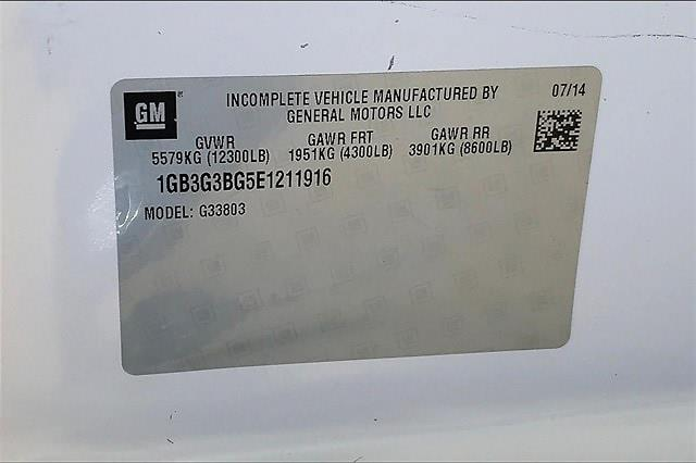 2014 Chevrolet Express 3500 4x2, Cutaway Van #PE1211916 - photo 33