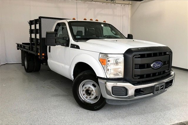 2014 Ford F-350 Regular Cab DRW RWD, Platform Body #PEEB76462 - photo 37
