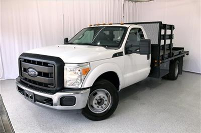 2014 Ford F-350 Regular Cab DRW RWD, Platform Body #PEEB76462 - photo 1